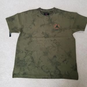 Jordan Travis Scott Olive Green Washed T